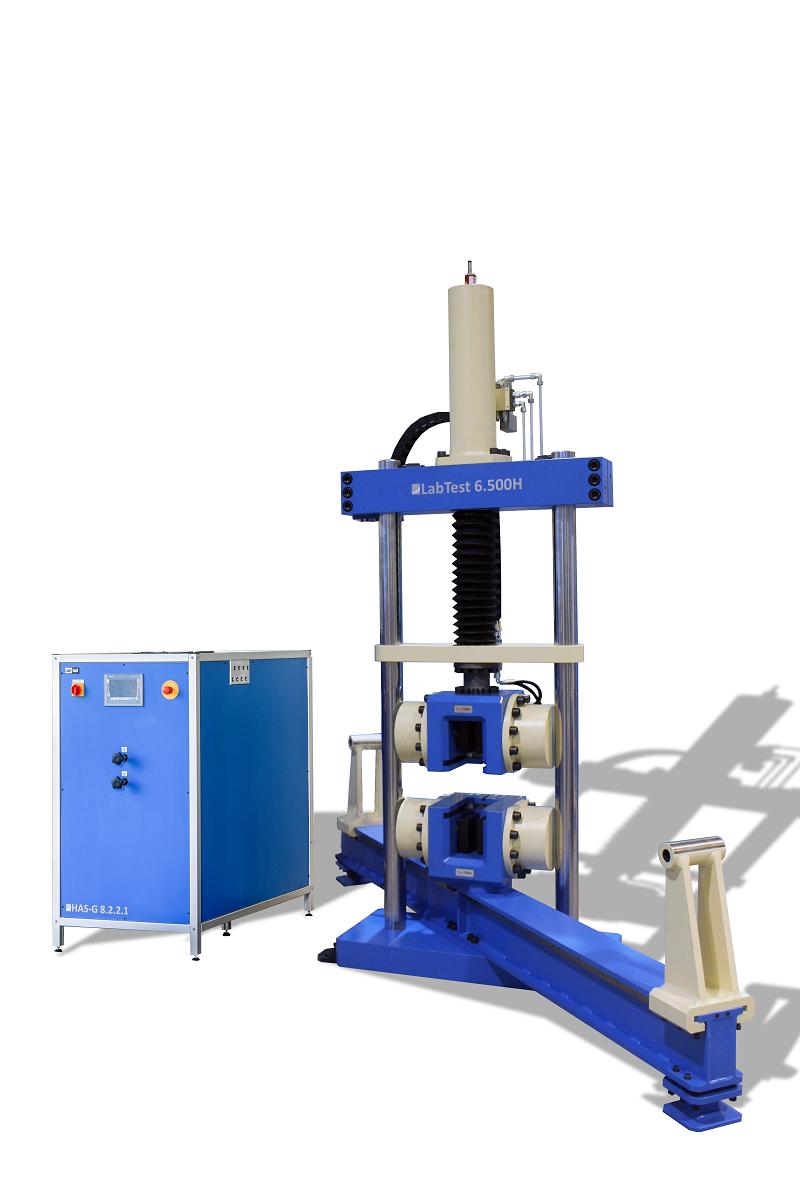 Dynamické zkušební stroje, hydraulické zkušební stroje