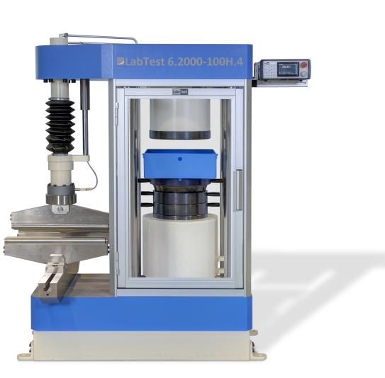 Compression test, compression testing machine