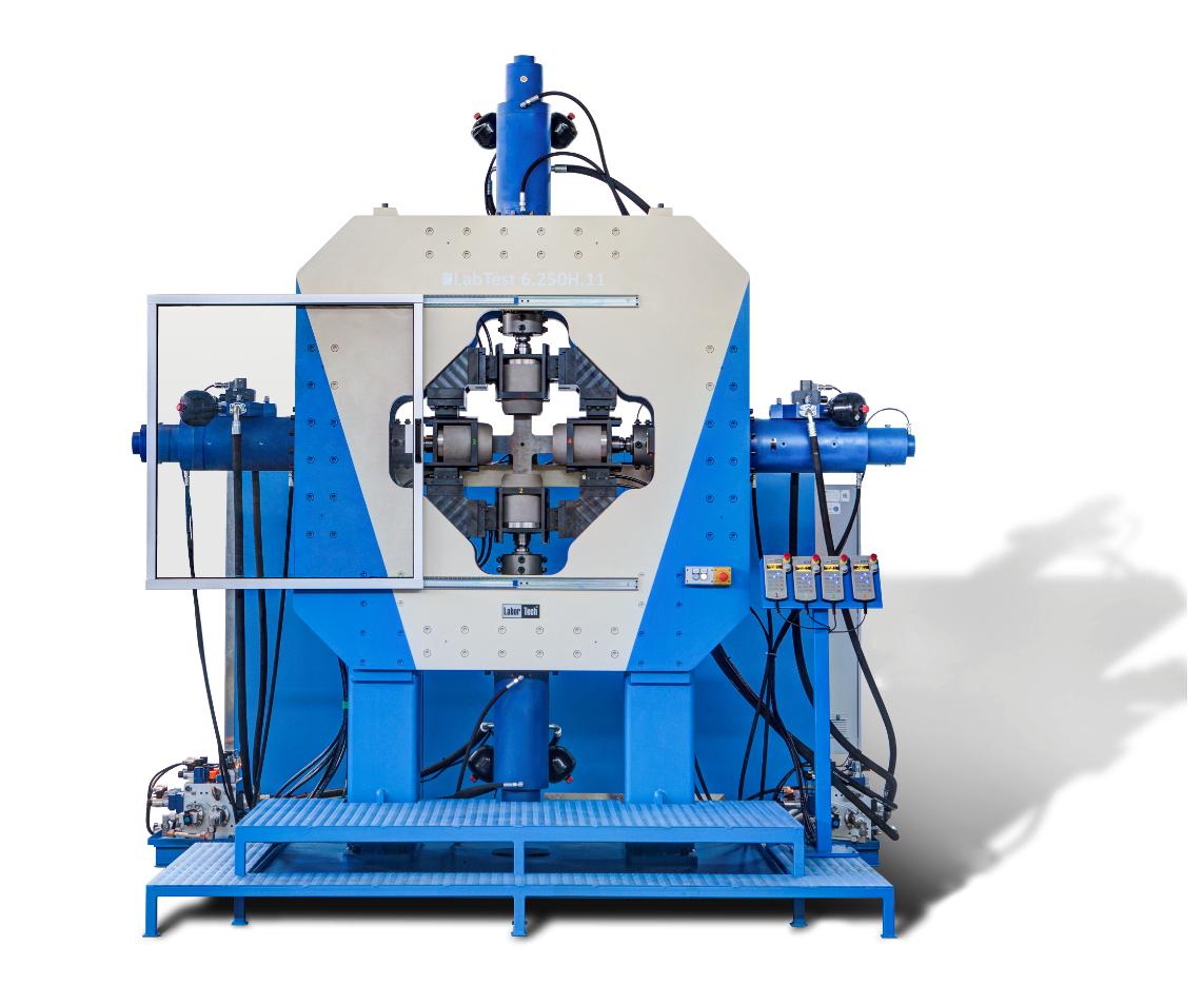 Dynamické zkušební stroje, Biaxiální zkušební stroje, Hydraulické zkušební stroje