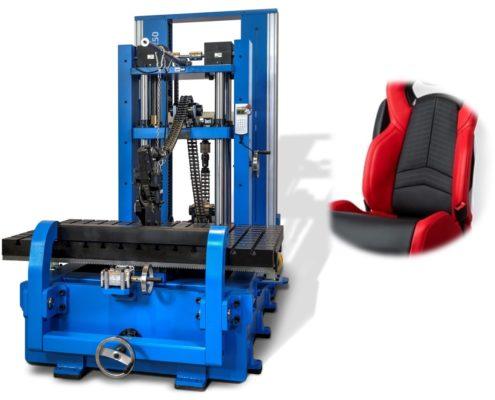 Testování sedadlových systémů
